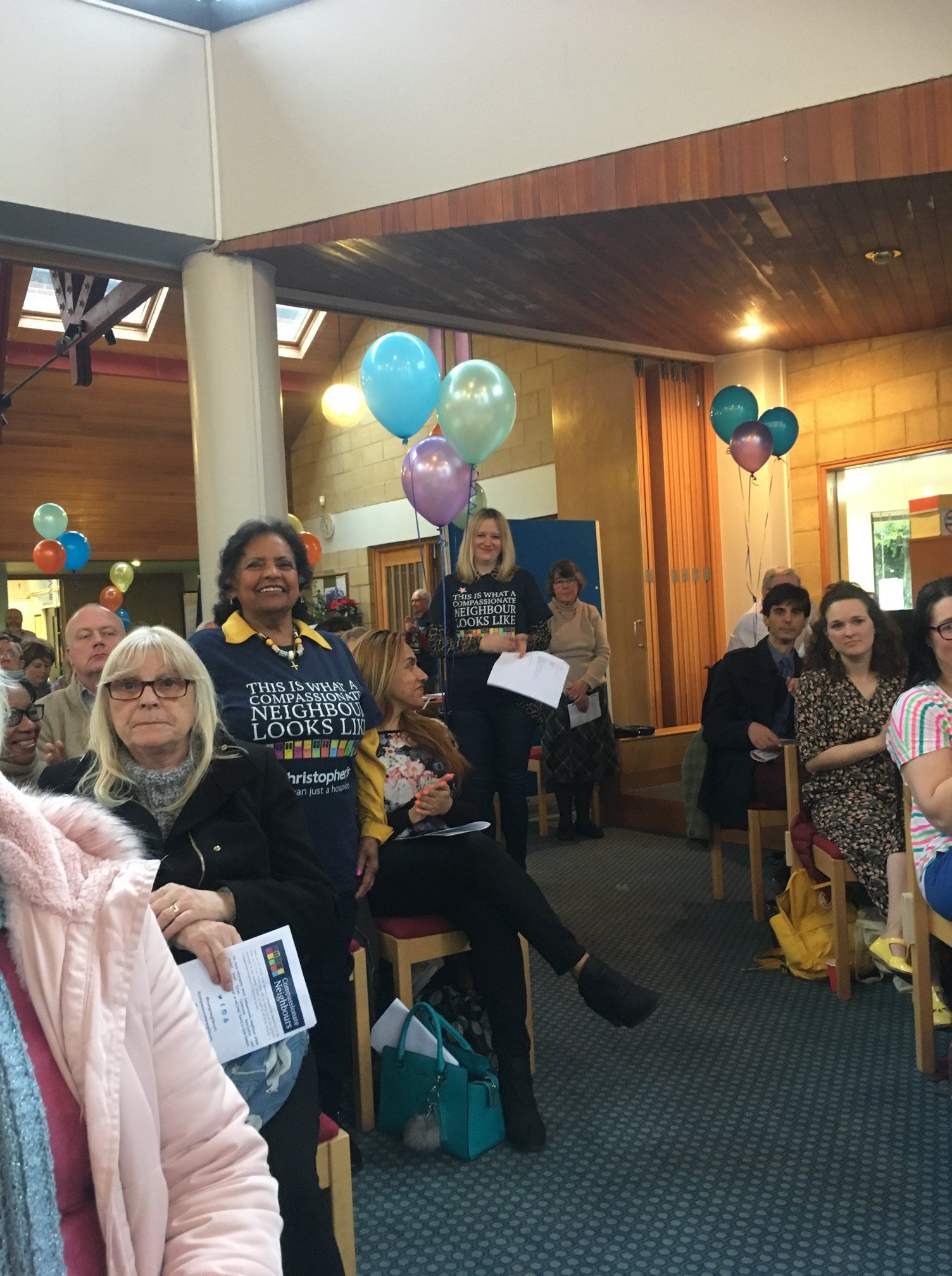 Giving Voice, celebrating Compassionate Neighbours in SE London